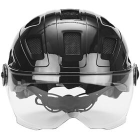 ABUS Hyban+ Helmet black, clear visor